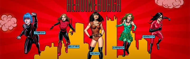Heroineburgh cover photo