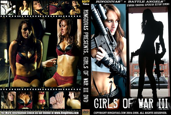 RingDivas' Girls of War III starring Destiny Dumon