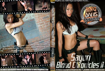 sayuriad Another Look at Sayuri Blood Chronicles II from RingDivas