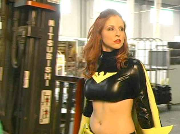 "Superheroine World's ""Black Falcon"" Starring Paris Kennedy"