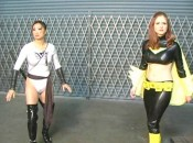 "Picture 7 175x130 Superheroine World's ""Black Falcon"" Starring Paris Kennedy"