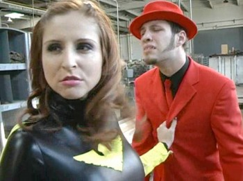 Picture 11 350x261 Superheroine Worlds Black Falcon 2 with Paris Kennedy and Nicole Oring