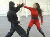 Black Falcon 3 7 175x130 Nicole Oring in Black Falcon 3   Ninja Hawk: Origins from Superheroine World