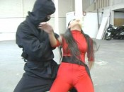 Black Falcon 3 8 175x130 Nicole Oring in Black Falcon 3   Ninja Hawk: Origins from Superheroine World