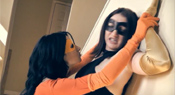 Superheroine Action Fight 1 - Night Darling Vs. Orange Avenger