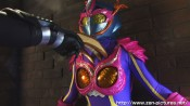 "Zen Pictures' ""Dark Heroine - Female Butterfly Person Pink Papillon"""