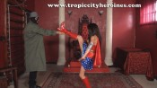 "Wonder Woman in ""White Slavery"" from Tropic City Heroines"