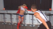 shw2836 175x98 Wonder Dame vs. The Wolf from Superheroine World