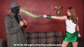 "Tropic City Heroines' ""The Punishment of Green Lantern Girl"""
