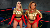 """The Exhibition"" from Superheroine World"