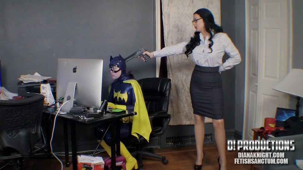 Batgirl bondage stockings photo 539