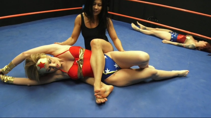 3 New Superheroine Videos from DT Wrestling
