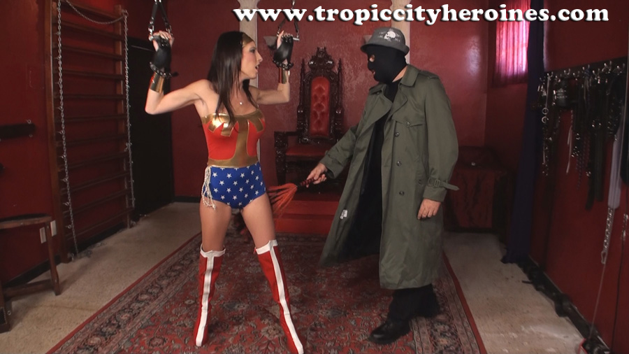 """Wonder Woman In: White Slavers Revenge"" from Tropic City Heroines"