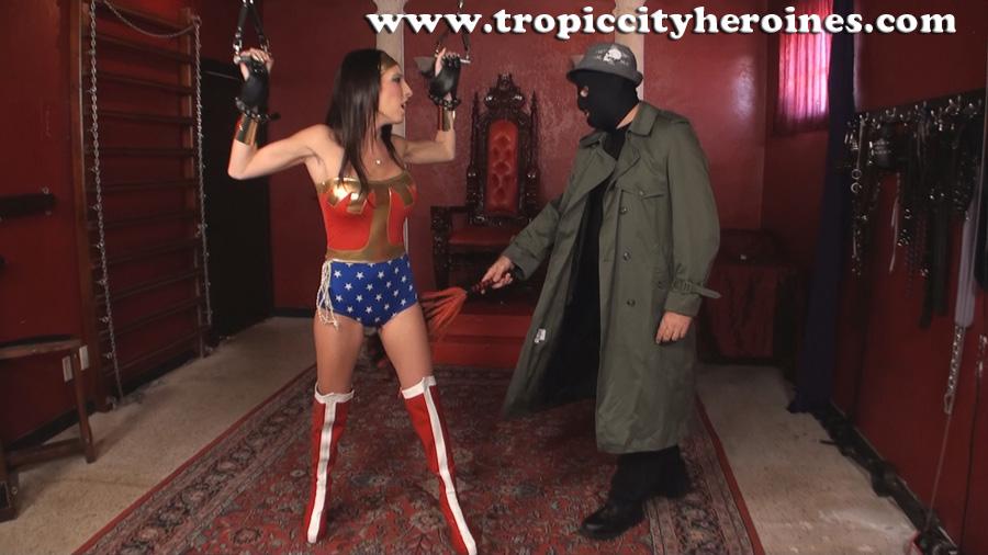 """""""Wonder Woman In: White Slavers Revenge"""" from Tropic City Heroines"""