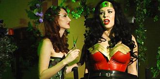 Wonder Woman VS Poison Ivy - Part 1 of 2 from Anastasia Pierce