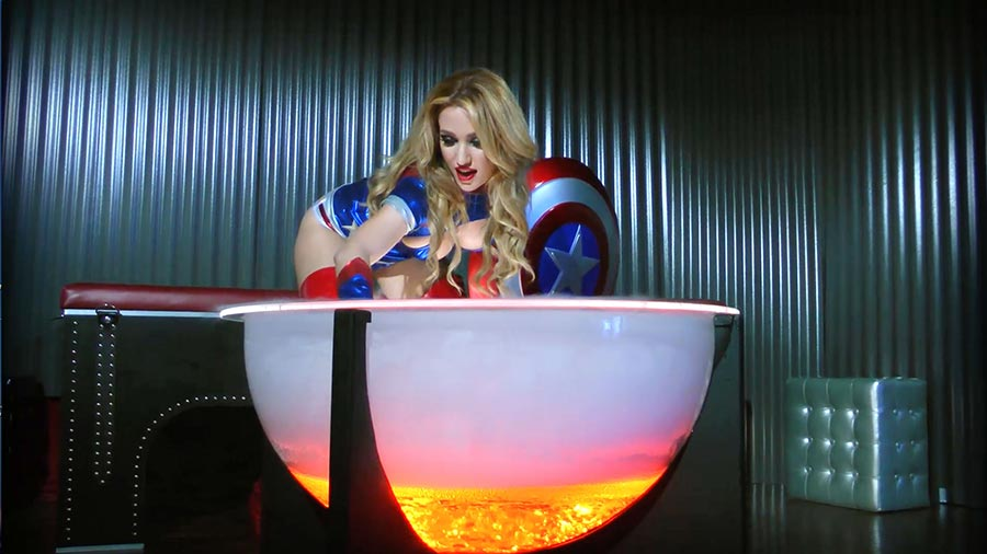 Anastasia Pierce S Miss America Vs Wonder Woman