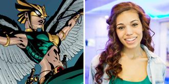 Ciara Renée to Play Hawkgirl in Flash/Arrow Spinoff
