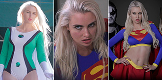 3 Upcoming Superheroine Videos Starring Gigi Allens