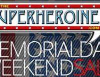 """The Superheroines"" Memorial Day Sale"