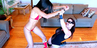 New Superheroine Video from Xtreme Female Fighting