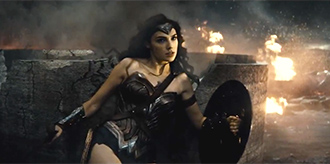 """Batman v Superman"" Trailer Featuring Wonder Woman in Action"