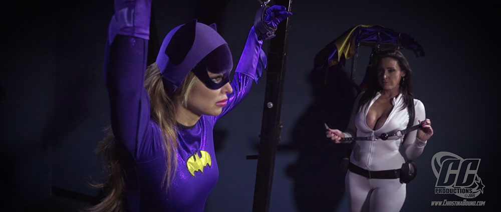 Heroine and villainess pantyhose sisters pt1 - 2 part 4
