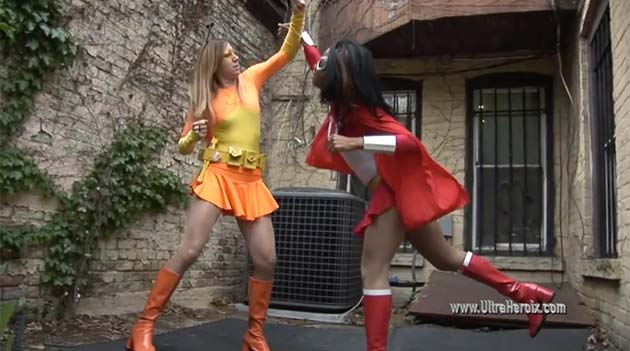 "2 New ""Lady Ultra"" Videos from Ultraheroix"