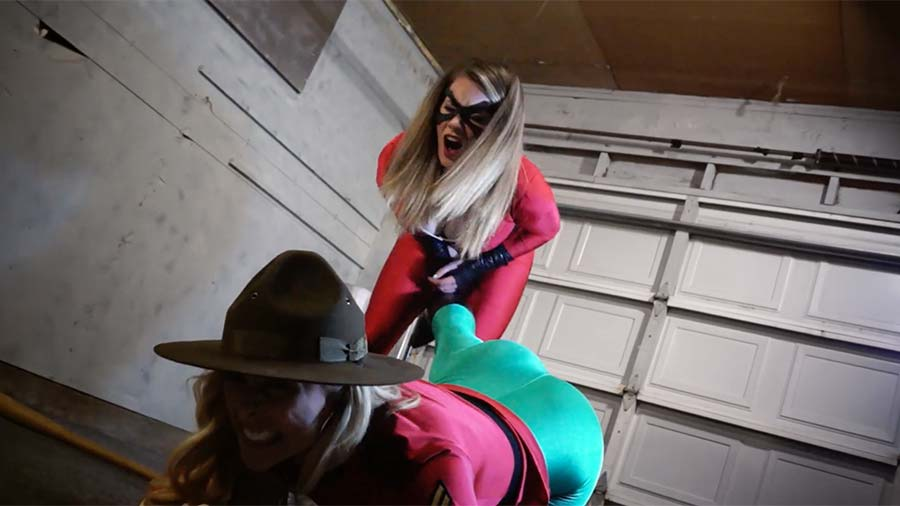 """Amazing Mountie"" from Alex David - Heroine Movies"