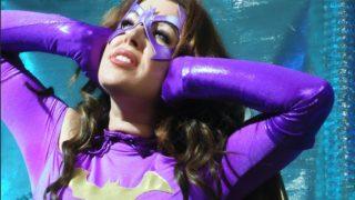 "Anastasia Pierce's ""Frozen Bat: Batgirl in Peril"""