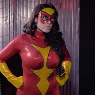 """""""Spider-Woman vs. Ms. America"""" from Christina Carter"""