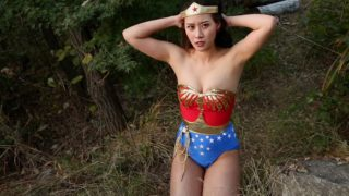 """Wunder Woman: Mask Of Kashnaktu"" from Superheroine Dream"