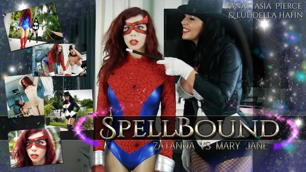 """Spellbound: Zatanna vs Mary Jane"" from Anastasia Pierce"