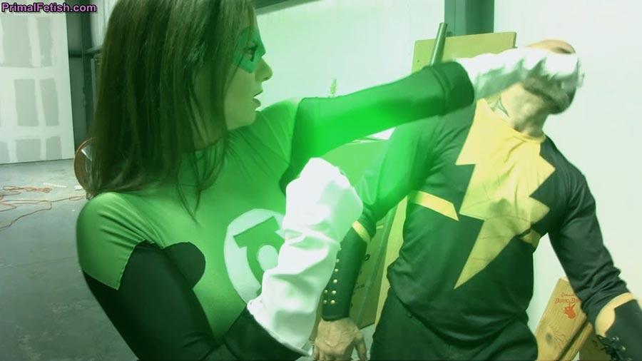 Lantern t shirt vintage green