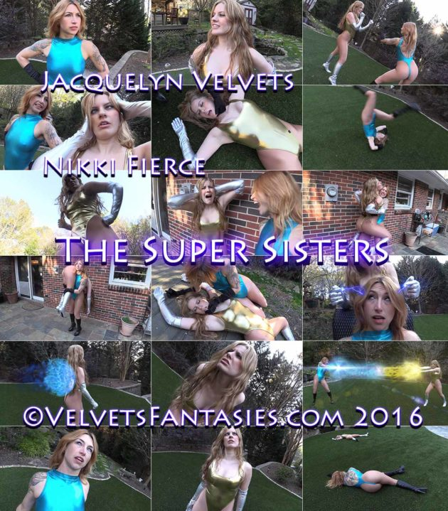 """""""The Super Sisters"""" from Velvets Fantasies"""