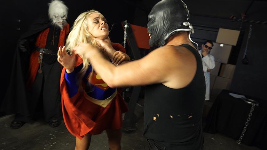superheroine punished porn