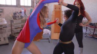 """Cocky Little Super Heroine"" from Secret Heroine Films"