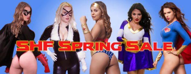 Spring Sale from Secret Heroine Films