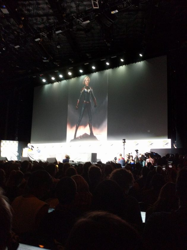 """Captain Marvel"" Info from Comic Con"