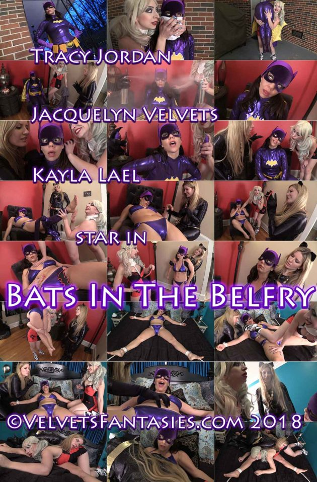 """Bats in the Belfry"" from Jacquelyn Velvets"