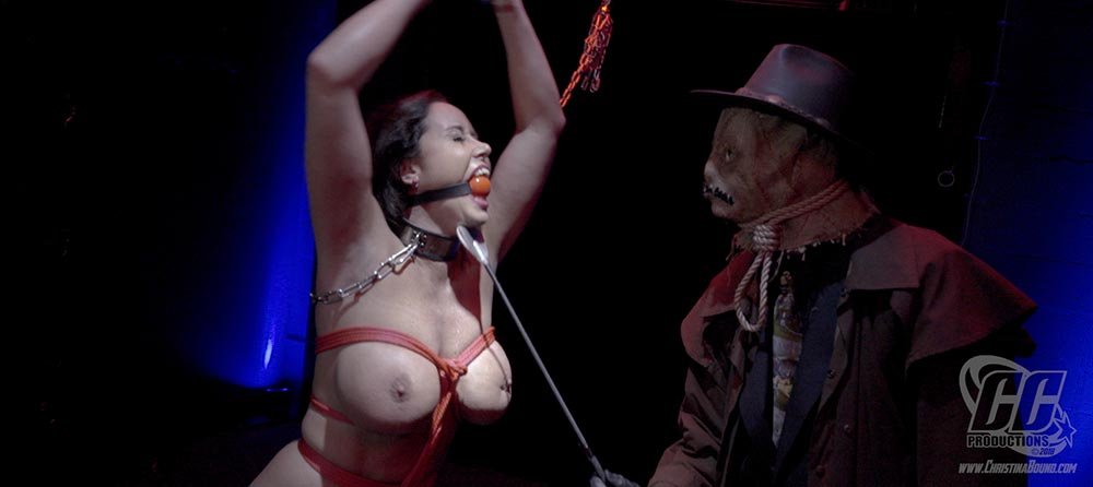 Wonder woman christina carter bondage