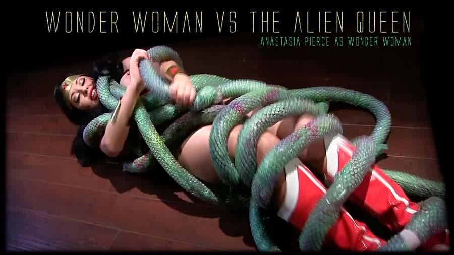 """""""Wonder Woman vs. The Alien Queen"""" from Anastasia Pierce"""