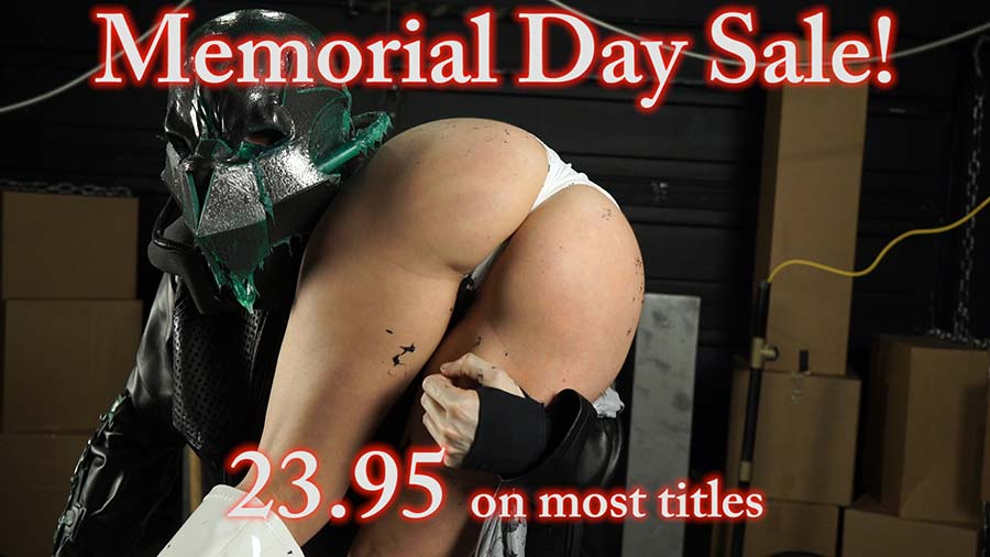 Memorial Day Weekend Sale from The Rye and Punished Heroines