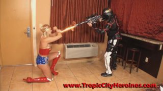 """Wonder Woman: Sonic Blast"" from Tropic City Heroines"