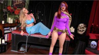 """Batgirl vs The Genie"" from Anastasia Pierce"