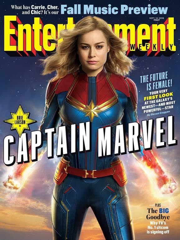 brie larson as captain marvel  u2013 heroine movies