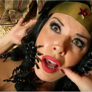 """Wonder Woman in Haunted Hotel"" from Anastasia Pierce"