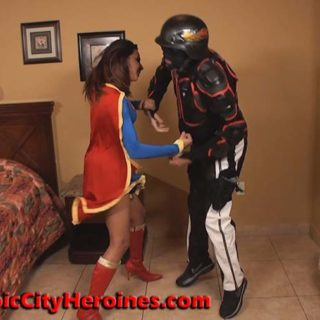 """""""Supergirl Impregnated"""" from Tropic City Heroines"""
