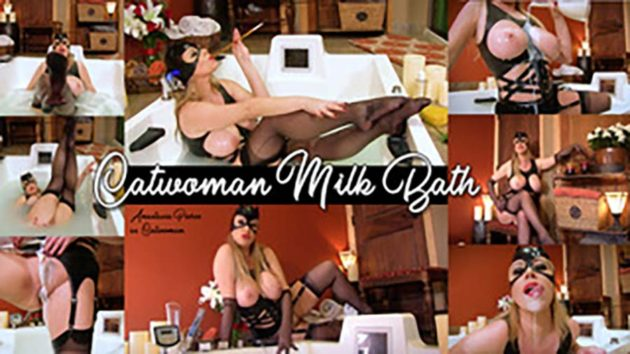 """Catwoman's Creamy Bath"" from Anastasia Pierce"