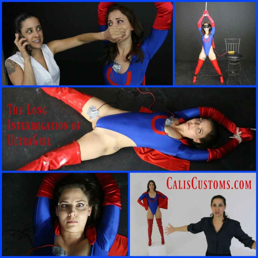 """The Long Interrogation of Ultragirl"" from Cali Logan"