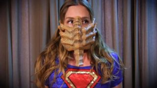 """Hostile Takeover: Supergirl vs Alien"" from Anastasia Pierce"